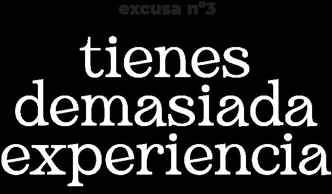 excusa n3