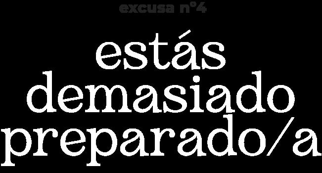 excusa n4