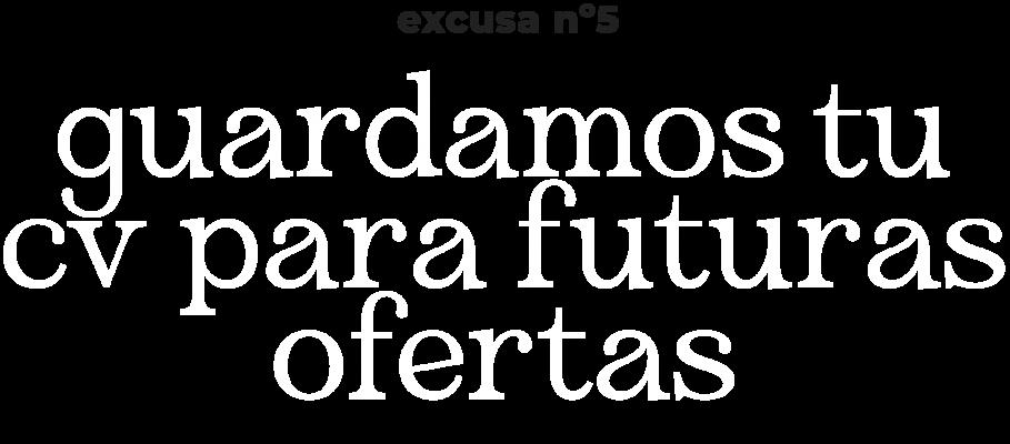 excusa n5