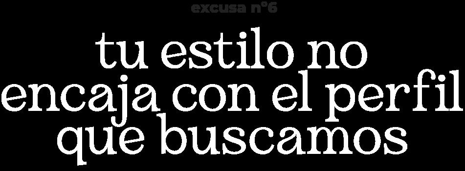 excusa n6